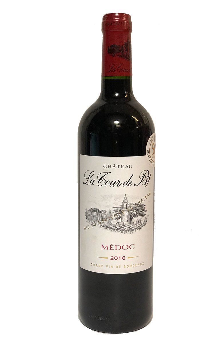 Chateau la Tour de By Médoc 2016 6 x 750mL