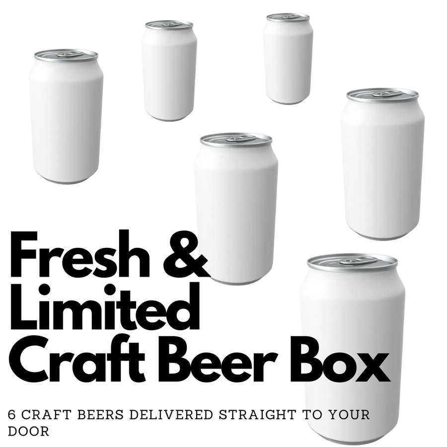 Fresh & Limited Craft Beer Box - 3 Month Subscription