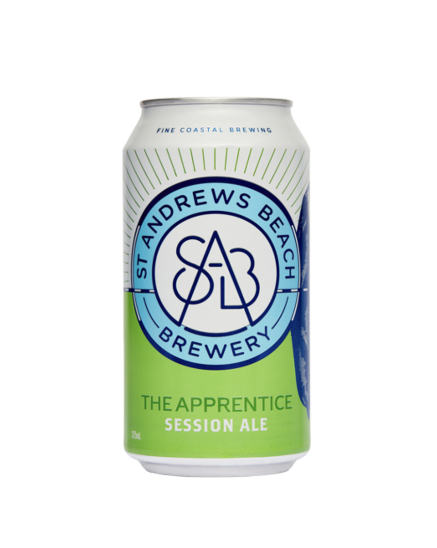 St Andrews Beach The Apprentice Session Ale 375ml - Hop Vine & Still
