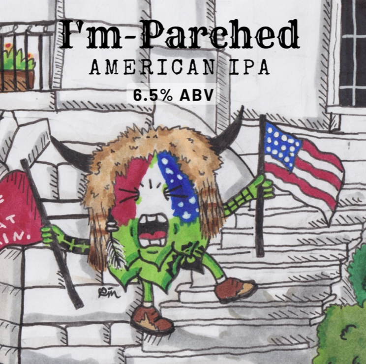 Welcome Swallow IM Parched American IPA 375ml - Hop Vine & Still