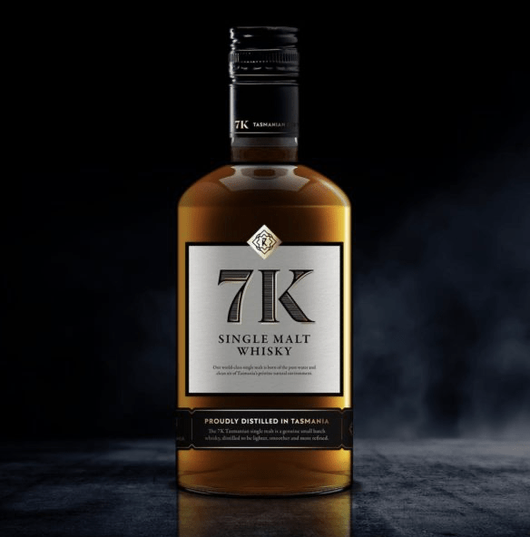 7K Distillery Single Malt Whisky Pinot Cask 500ml - Hop Vine & Still