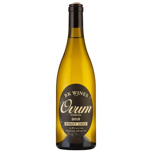 BK Wines Ovum Pinot Gris 2018 750ml