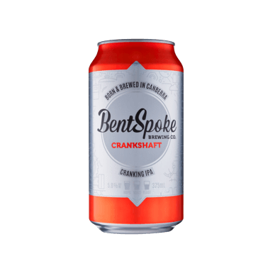 Bent Spoke Crankshaft IPA 375ml - Hop Vine & Still
