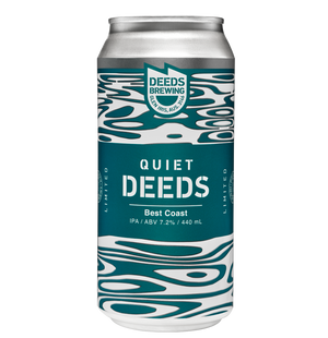 Quiet Deeds Best Coast IPA 440ml