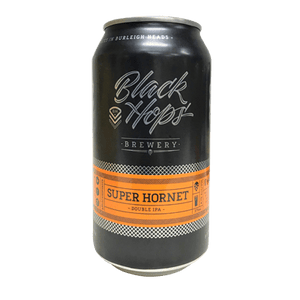 Black Hops Super Hornet IIPA 375ml - Hop Vine & Still