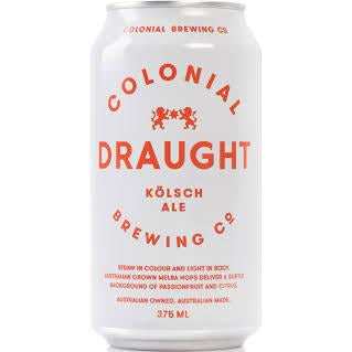 Colonial Draught 375ml