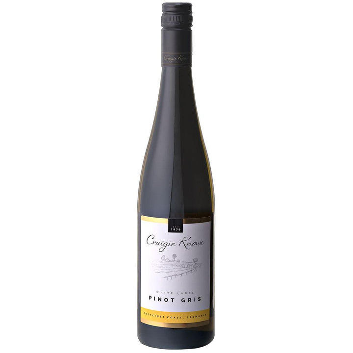 Craigie Knowe White Label Pinot Gris 2016 750ml