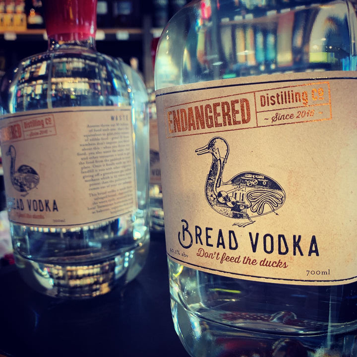 Endangered Distilling Co Don't Feed The Ducks Bread Vodka 700ml