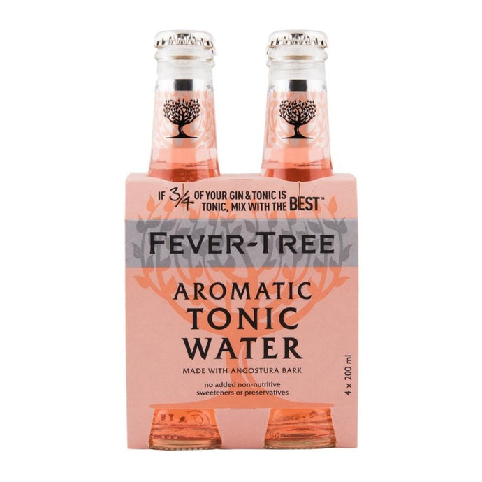 Fever-Tree Aromatic Tonic Water 4 x 200ml