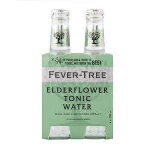 Fever-Tree Elderflower Tonic 4 x 200ml