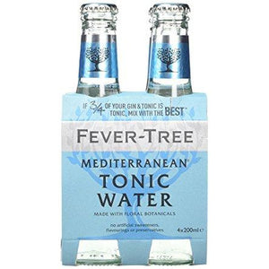 Fever-Tree Mediterranean Tonic Water 4 x 200ml