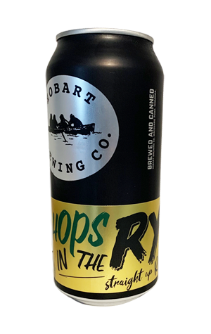 Hobart Brewing Co Hops In The Rye 440ml - Hop Vine & Still
