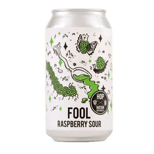 Hop Nation Fool Raspberry Sour 375ml - Hop Vine & Still