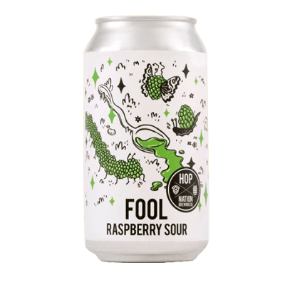 Hop Nation Fool Raspberry Sour 375ml