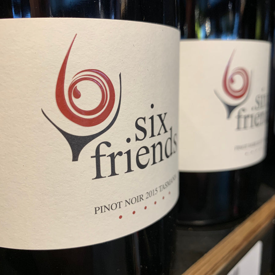 Six Friends Tasmania Pinot Noir 2016 750ml - Hop Vine & Still