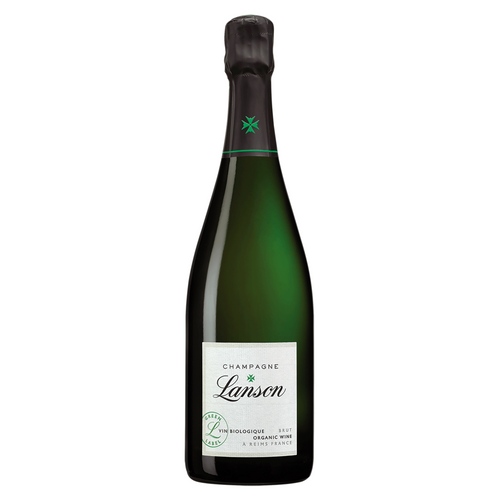 Lanson Organic Green Label Brut NV Champagne 750ml