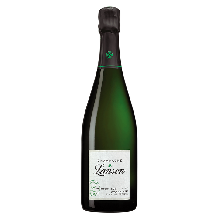 Lanson Organic Green Label Brut NV Champagne 750ml - Hop Vine & Still