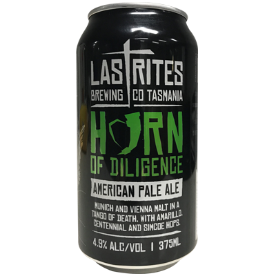 Last Rites Horn of Diligence Pale Ale 375ml