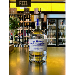 McHenry Navy Strength Gin 700ml - Hop Vine & Still