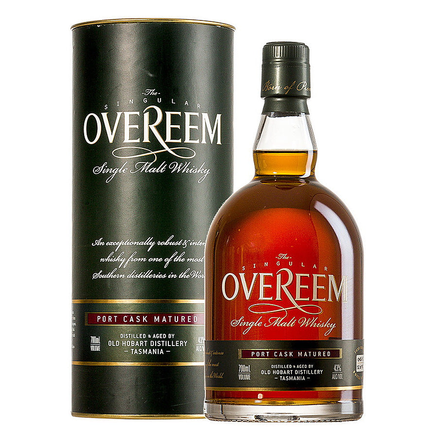 Overeem Cask Strength Port Cask 700ml - Hop Vine & Still