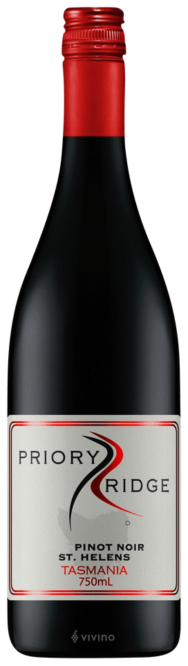 Priory Ridge Pinot Noir 2018 750ml - Hop Vine & Still