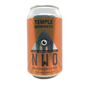 Temple NWO American Stout Cans 355mL - Hop Vine & Still