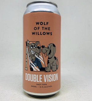 Wolf of the Willows Double Vision Hazy DIPA 440ml