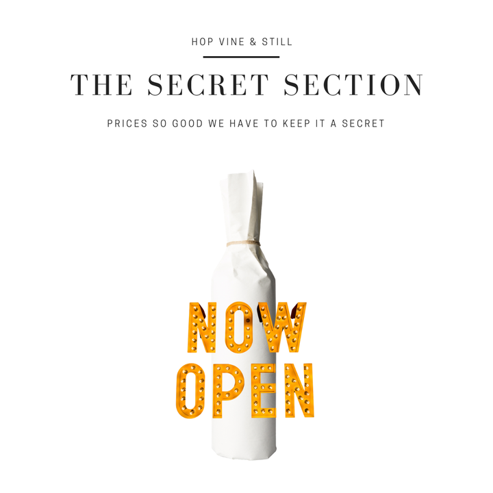 The Secret Section - Mystery Tasmanian Vintage Sparkling Wine 6 x 750ml - Hop Vine & Still