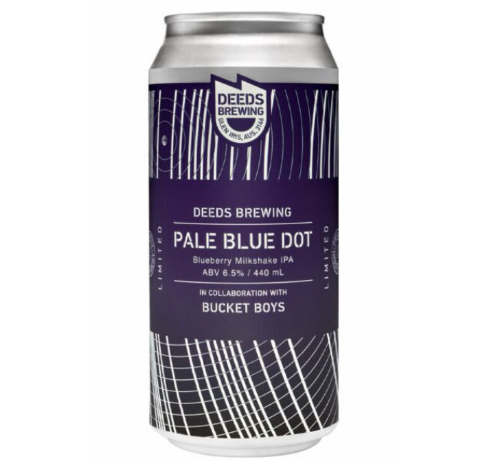 Deeds Pale Blue Dot Milkshake IPA 440ml