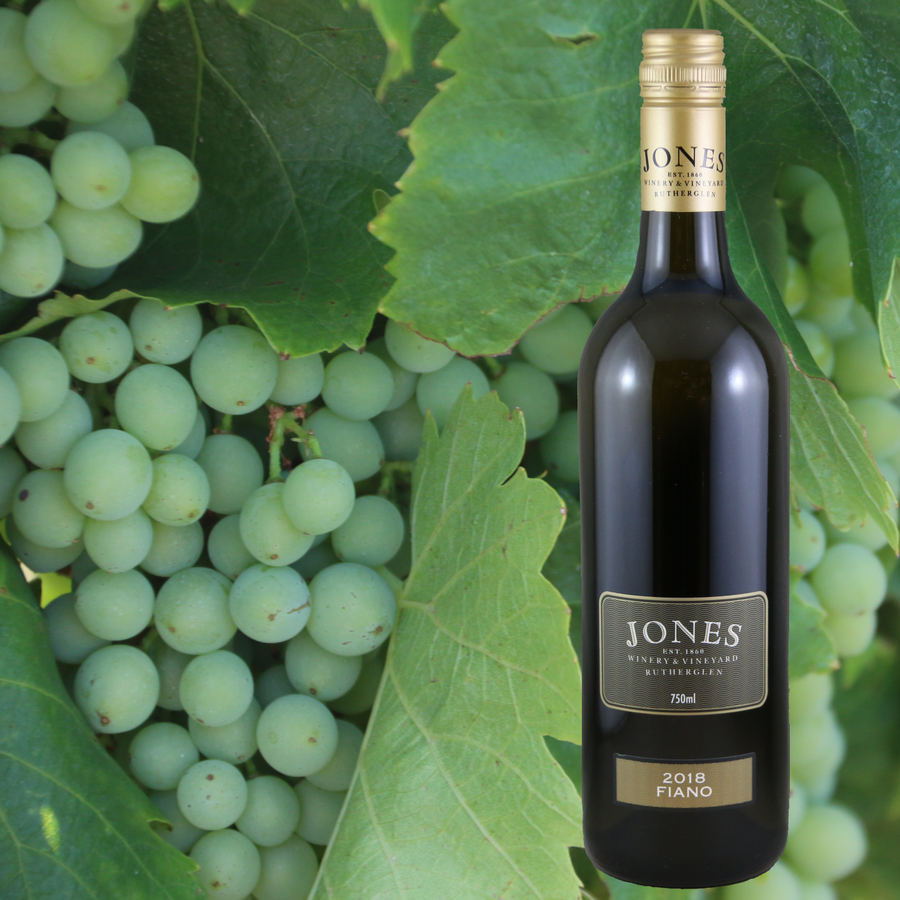 Jones Winery & Vineyard Fiano 2018 6 x 750mL - Hop Vine & Still