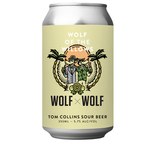 Wolf Of The Willows Tom Collins Sour 355ml