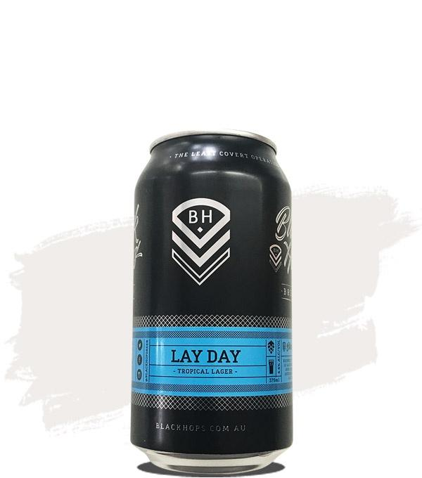 Black Hops Lay Day Lager 375ml - Hop Vine & Still