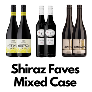 Shiraz Faves Mixed Case 6 x 750ml - Hop Vine & Still