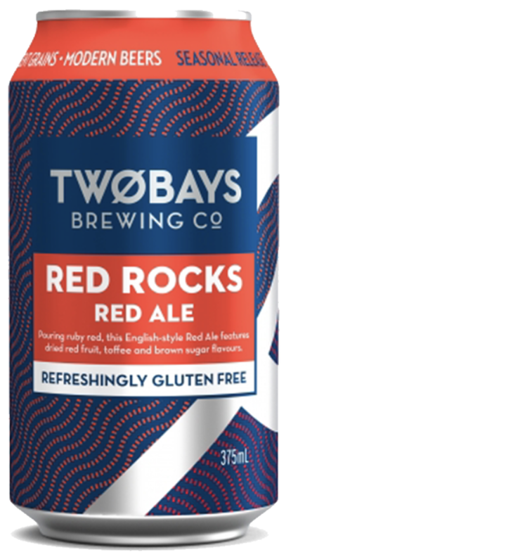 Two Bays Red Rocks Red Ale 375ml - Hop Vine & Still