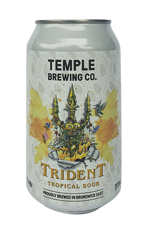 Temple Brewing Co. Trident Tropical Sour 355ml - Hop Vine & Still