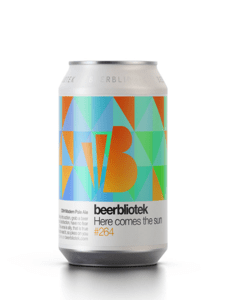 Beerbliotek Here Come The Sun DDH Modern Pale Ale 330mL