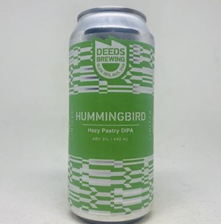 Deeds Hummingbird Hazy Pastry DIPA 440ml - Hop Vine & Still