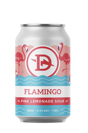 Dainton Flamingo Pink Lemonade Sour 375ml - Hop Vine & Still