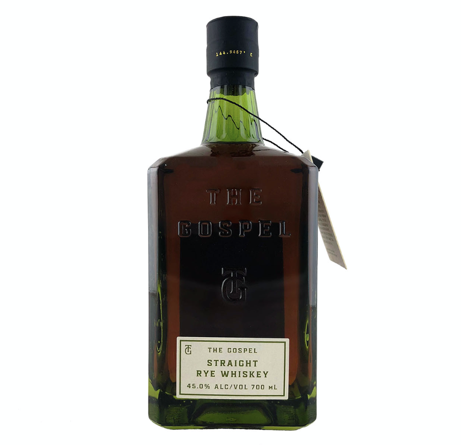 The Gospel Straight Australian Rye Whiskey 700ml - Hop Vine & Still