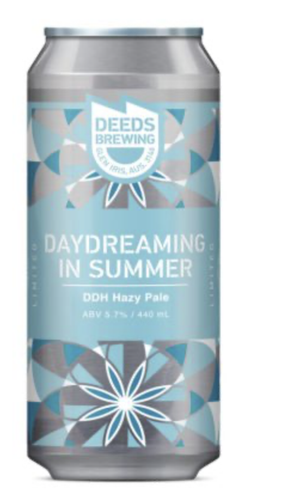 Deeds Daydreaming in Summer DDH Hazy Pale 440ml - Hop Vine & Still