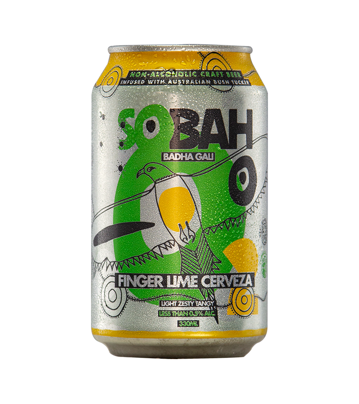 Sobah Finger Lime Cerveza 0.5% 375,ml - Hop Vine & Still