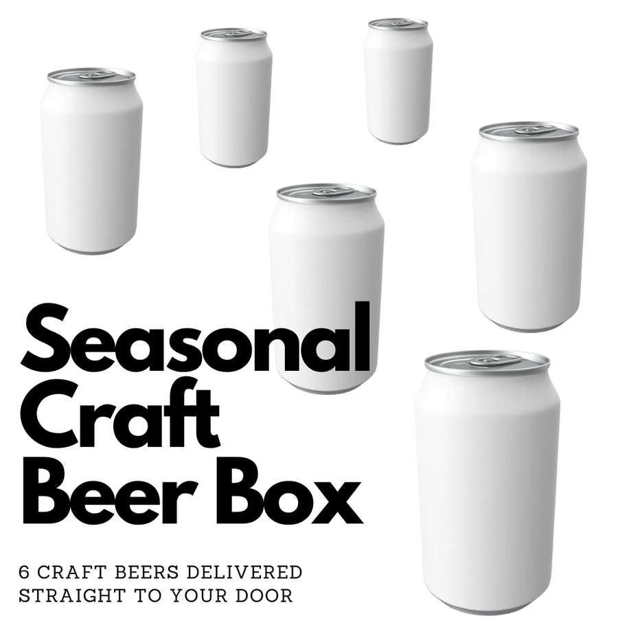 Seasonal Craft Beer Box - 3 Month Subscription
