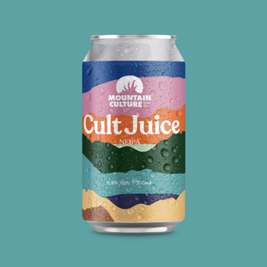 Mountain Culture Cult Juice NEIPA 355ml - Hop Vine & Still