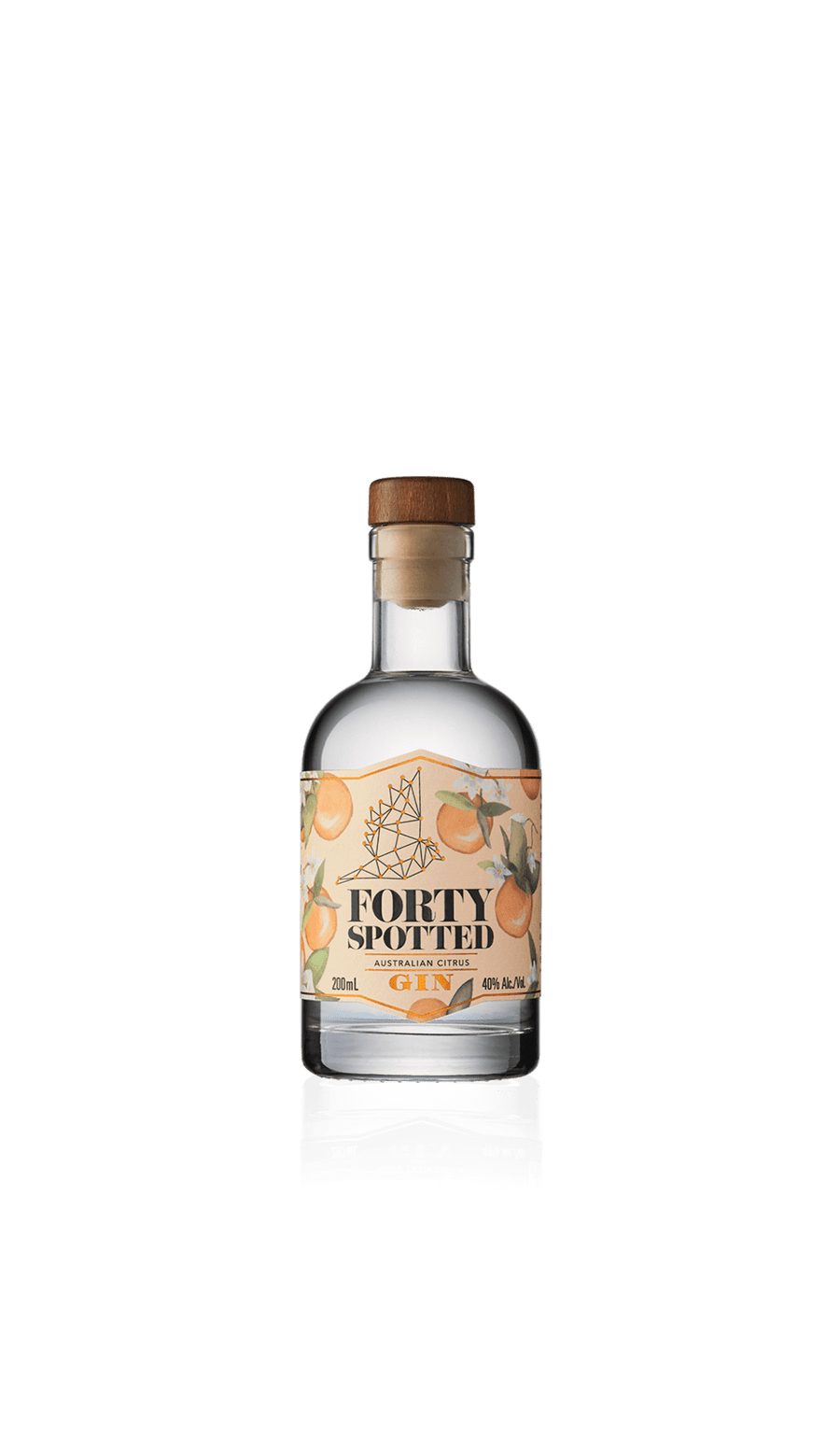 Forty Spotted Citrus Gin 200ml