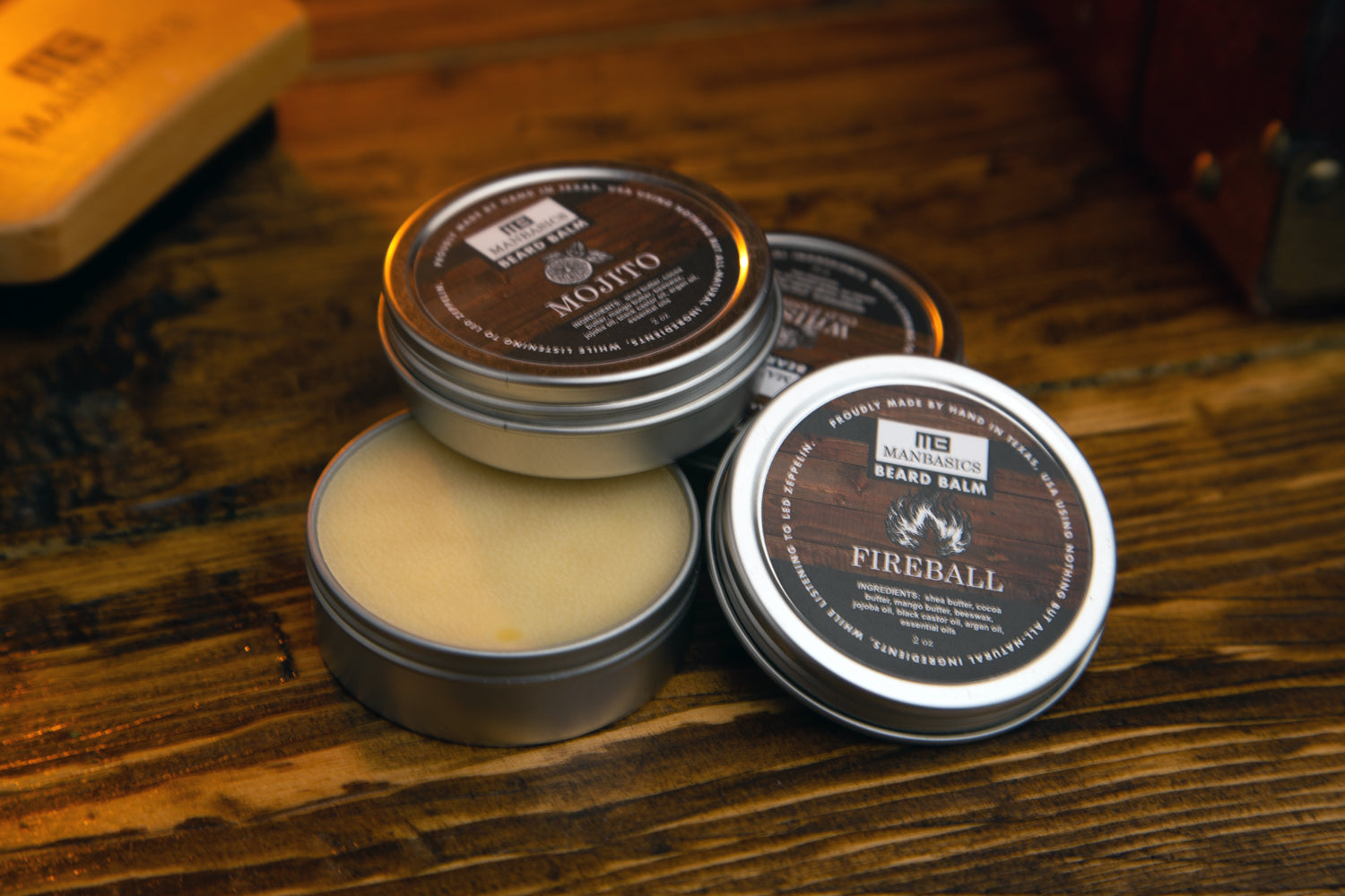 All-Natural Beard Balms