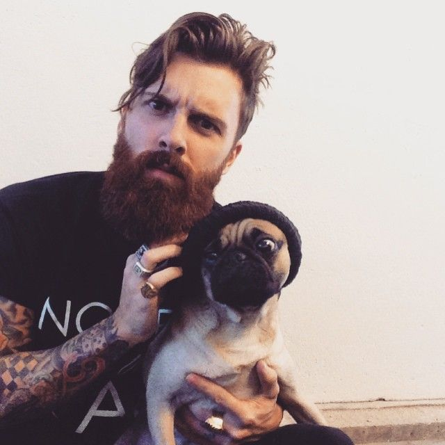 OF BEARDS AND MEN  AND DOGS