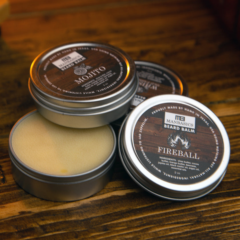 ManBasics All-Natural Beard Balms