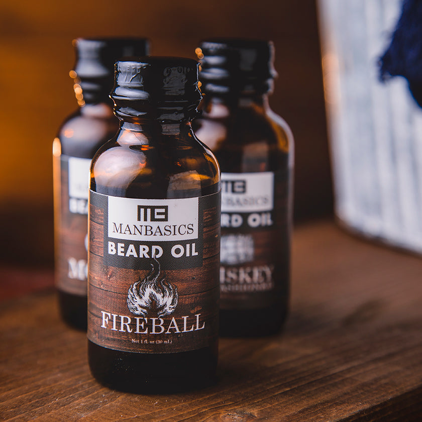 ManBasics All-Natural Beard Oils