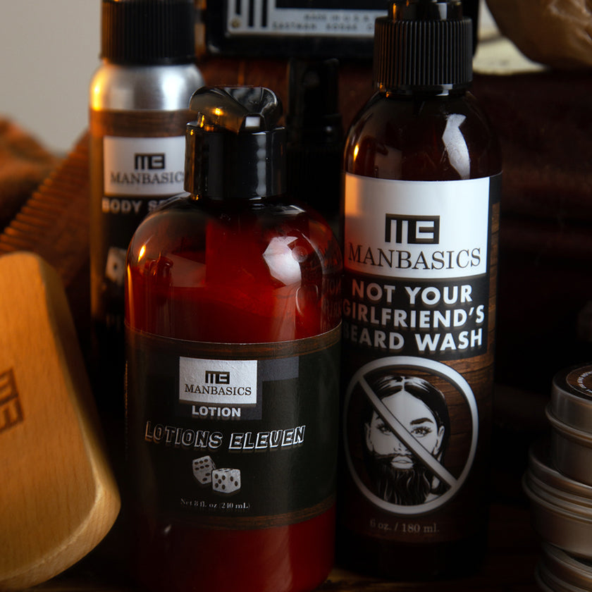ManBasics Beard Care Products