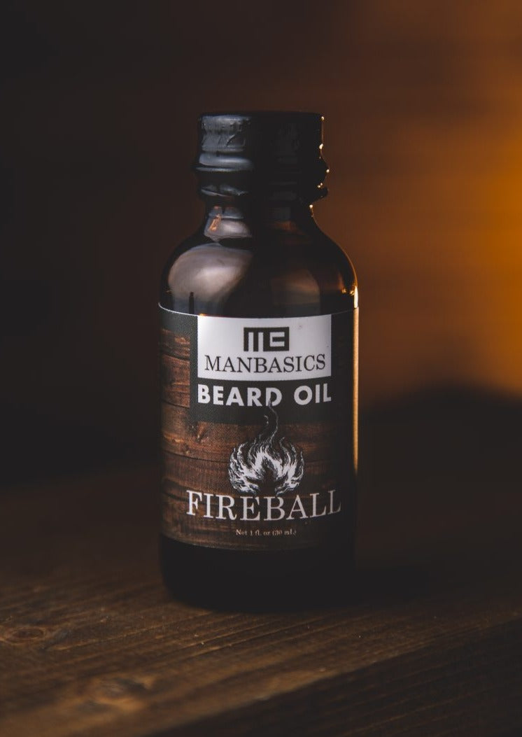 Fireball All Natural Beard Oil